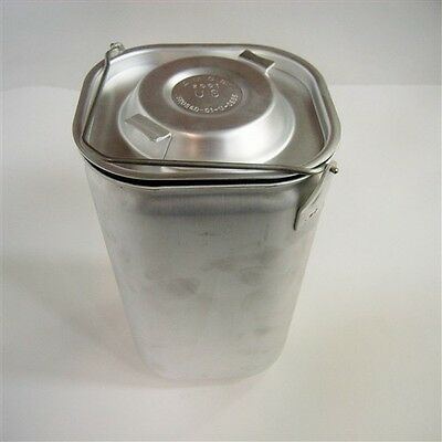 Military Mermite Container  U.S.G.I. Aluminum Insulated Food Container Insert
