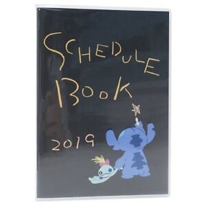 Disney Stitch 2019 monthly schedule note planner calendar agenda ~Oct.2018 B6