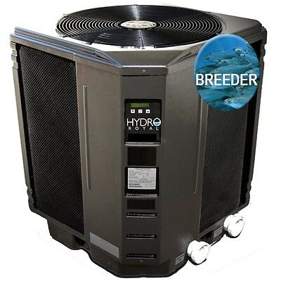 Aquaculture Breeder Heat Pump Heater Tank Aquarium 125,000 BTU's