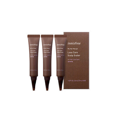 [innisfree] My Hair Recipe Loss Care Scalp Scaler 15ml * 3 Auction