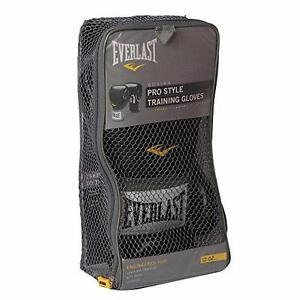 Everlast 1200013 Pro Style 12 oz. Training Gloves-Black