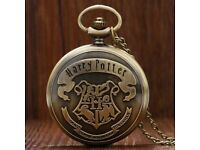 Harry Potter School of Witchcraft and Wizardry, Children Necklace Pendant Watch