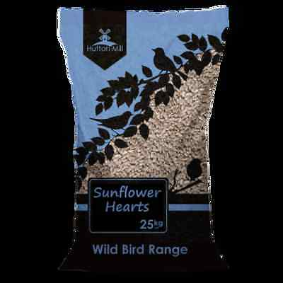 HUTTON MILL SUNFLOWER HEARTS 25KG