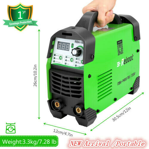 Stick Welding Machine Mini Portable 1/16~ 1/8 inch Electrode Welder ARC140 AC US