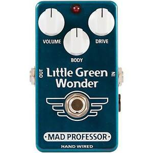 Overdrive Little Green Wonder by Mad Professor Handwired