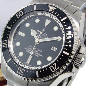 ROLEX DEEPSEA SEA DWELLER 116660 STEEL 44 mm BLACK DIAL CERAMIC BEZEL
