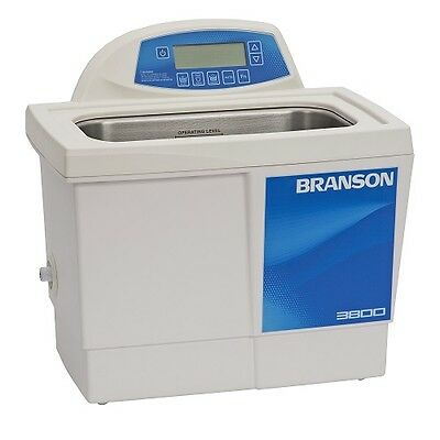 Branson Cpx3800h 1.5 G Ultrasonic Cleaner W Digital Timer Heater Degas Temp Mon