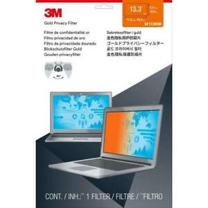 3M Gold Privacy Filter for 13.3 Widescreen Laptop - For 13.3Notebook - TAA Compliance