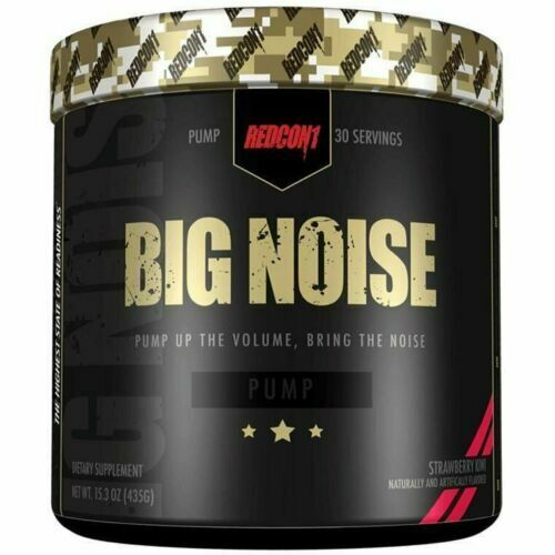 REDCON1 BIG NOISE 30 Servings N.O PUMP Formula Pre-workout ALL FLAVORS FREE SHIP 2
