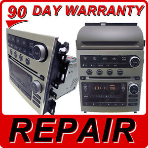 6 Disc cd changer repair