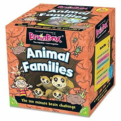 BrainBox - Animal Families Educational Memory Game For Kids Adults Family Gift - Adult Memory Games
