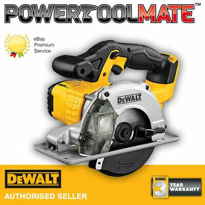 Dewalt DCS373N 18V XR Circular saw - naked, body only metal cutting