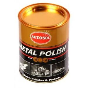 autosol all metal chrome polish jar 1kg ebay. Black Bedroom Furniture Sets. Home Design Ideas