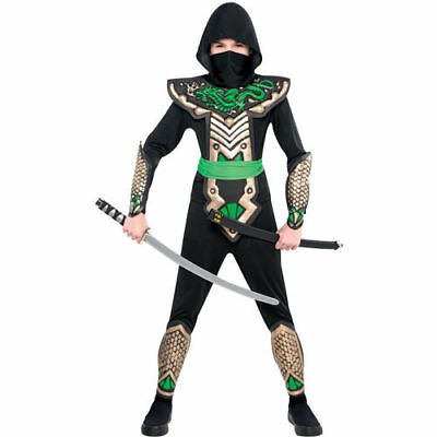 Amscan Ninja Dragon Slayer Halloween Costume for - Boys Dragon Slayer Ninja Costume