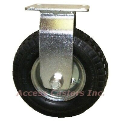 6cpnspr 6 Inch Pneumatic Rigid Caster Wheel With Small Top Plate
