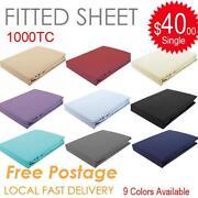Egyptian Cotton Sheet Set Queen