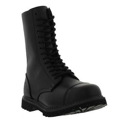 Grinders Herald CS Commando Mens 14 Eye Combat Steel Toe Cap Boots ...