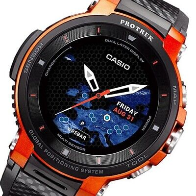 NEW CASIO Pro Trek WSD-F30-RG Smart Watch Bluetooth Outdoor