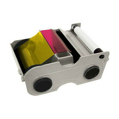 FARGO 44240 YMCKOK Cartridge with Cleaning Roller Color Ribbon  200 PRINTS