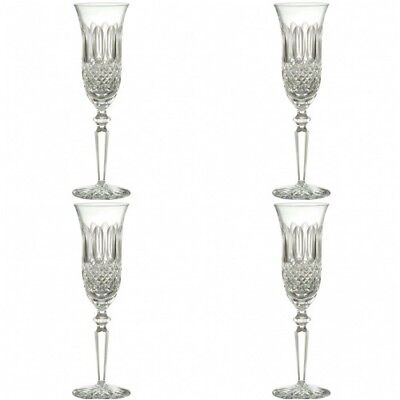 Waterford Colleen Encore Champagne Flute 4 Flutes New In Box #135606