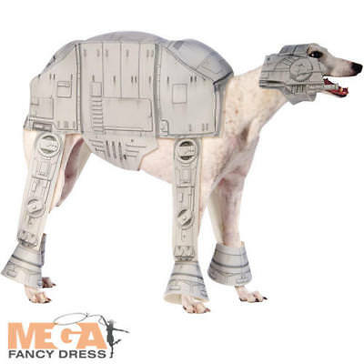 AT-AT Dog Fancy Dress Star Wars All Terrain Armored Transport Puppy Pet - Star Wars Atat Hunde Kostüm