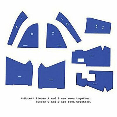 Cab Foam Kit Less Headliner Blue Compatible With Ford 7610 5610 6610