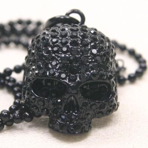 Swarovski Skull Necklace Ebay