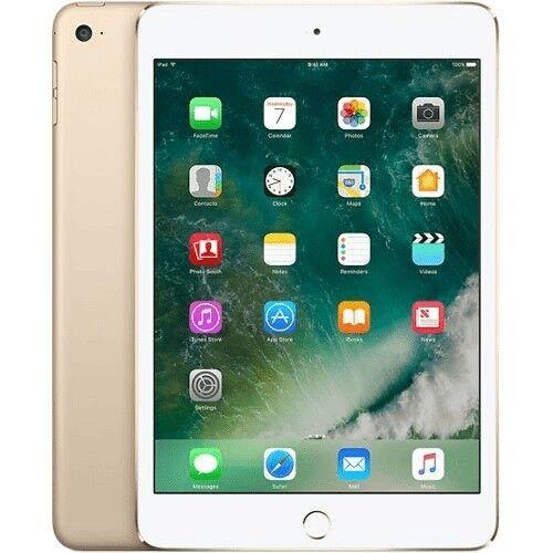Apple iPad mini 4 16GB, Wi-Fi + Cellular (Sprint), 7.9in - Gold