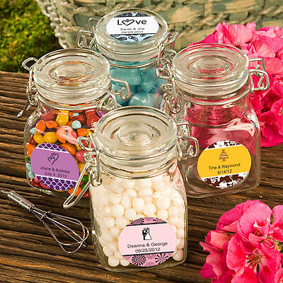 Apothecary Jar Favors - 84 - Personalized Wedding Apothecary Jar Favors
