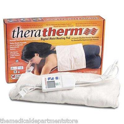 TheraTherm Digital Moist Heating Pad  14  x 14 Blanket