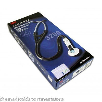3m Littmann 3200 Electronic Stethoscope W Bluetooth 3 Color Choice- New
