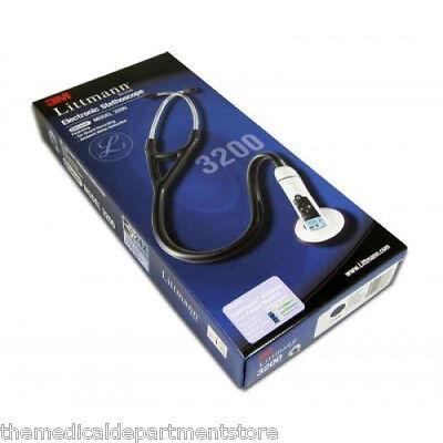 3m Littmann 3200 Electronic Stethoscope W Bluetooth 3 Color Choice- New