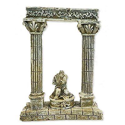 Status Solutions (All Pond Solutions Roman Column 62328 Pillars Statue Aquarium Fish Tank Ornament)