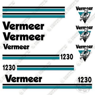 Vermeer Bc1230 Brush Chipper Decal Kit