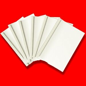 FELLOWES IVORY A4 THERMAL BINDING COVERS 1.5mm (PACK OF 100) BINDER