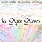 1A Style Sticker