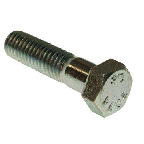 """Pack of 50 Metallics JBHC47 1/2"""" x 1-1/2"""" Hex Head Cap Bolt, Steel"""