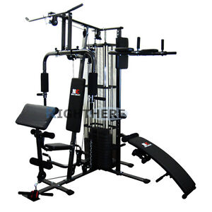 NEW-MULTI-STATION-HOME-GYM-DUMBBELL-FITNESS-BENCH