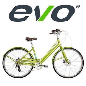 "NEW EVO WOMEN'S CITY BICYCLE 16.5"" - 128451353 - GREEN BIKE"
