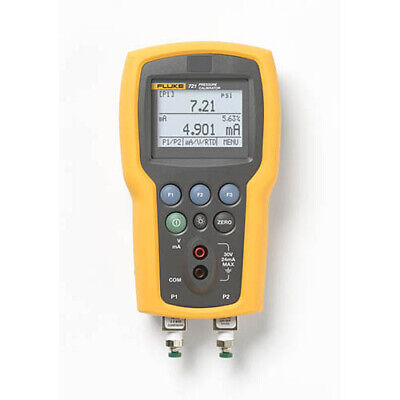 Fluke 721-1615 Dual Sensor Pressure Calibrator 16 Psig 1500 Psig