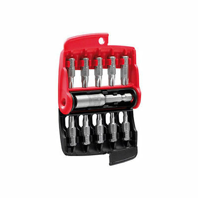 facom 11 piece screwdriver bit set slotted pozi torx with compact case ebay. Black Bedroom Furniture Sets. Home Design Ideas