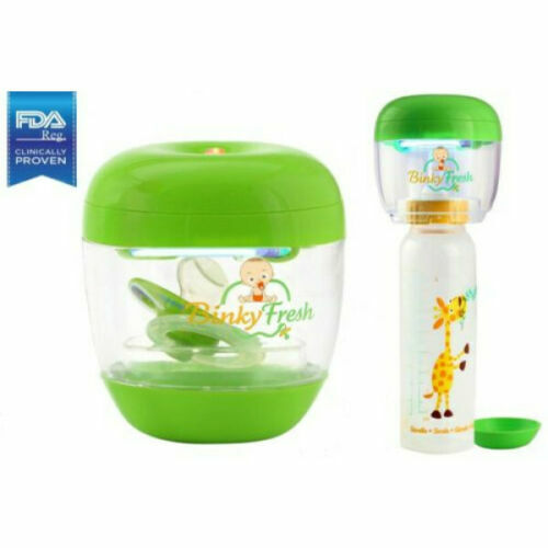 Pacifier Baby Bottle Nipple UV Cleaner On The Go Battery Operated Binky Fresh