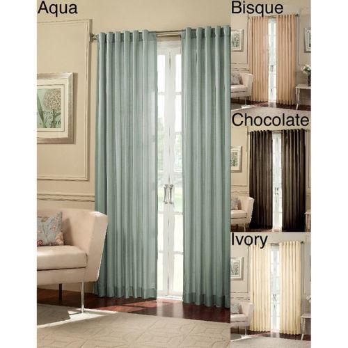 wide width curtains ebay. Black Bedroom Furniture Sets. Home Design Ideas