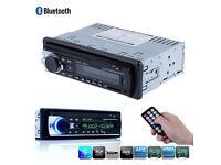 Bluetooth Car Audio Fm Receiver USB Mp3 Radio Player & USB SD Input AUX Receiver Remote Control