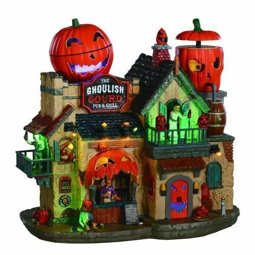 Lemax® The Ghoulish Gourd Pub & Grill Village Building