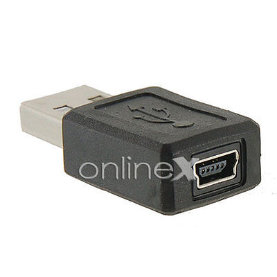 Adaptador USB Macho a Mini USB Hembra a0852