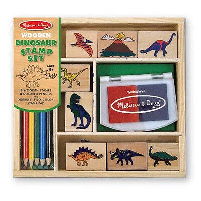 Melissa & Doug Dinosaur Stamp Set #1633 New Sealed