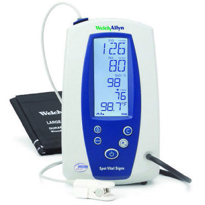 Welch Allyn Spot Vital Signs Monitor - 42n0b-e1 - Nibp Nellcor Spo2 Pulse Rate