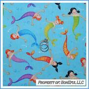 Little Mermaid Fabric