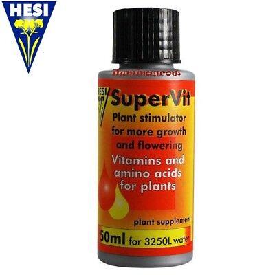 Hesi Supervit 50ml Abono hidro coco Tierra crecimiento y floracion